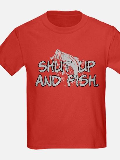 Shut up and fish. T
