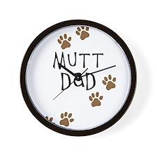 Mutt Dad Wall Clock