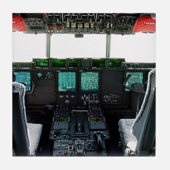 Hercules Cockpit Tile Coaster