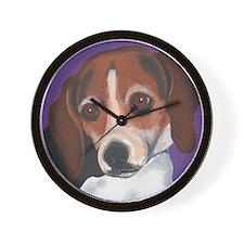 Suzette Beagle Wall Clock