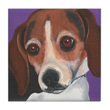 Suzette Beagle Tile Coaster