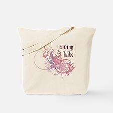 Caving Babe Tote Bag