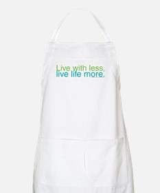 Live with less BBQ Apron
