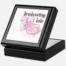 Broadcasting Babe Keepsake Box