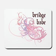 Bridge Babe Mousepad