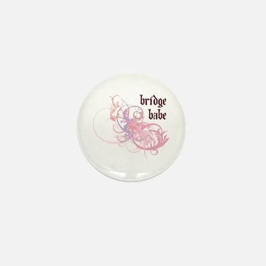 Bridge Babe Mini Button