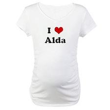 I Love Alda Shirt