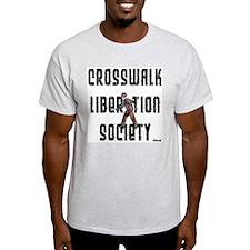 Crosswalk Liberation Society Ash Grey T-Shirt