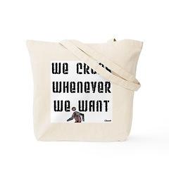 Crosswalk Liberation Society Tote Bag