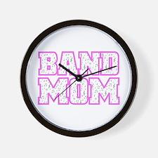 Varsity Band Mom Wall Clock