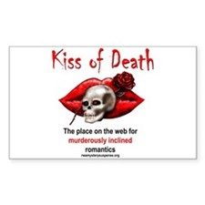 Kiss of Death Rectangle Decal