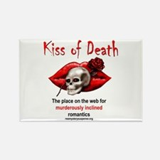 Kiss of Death Rectangle Magnet