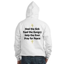 Jesus Teaches Liberal Values Hoodie