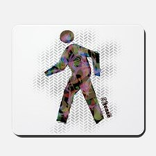 Graphic Crosswalk Person Mousepad