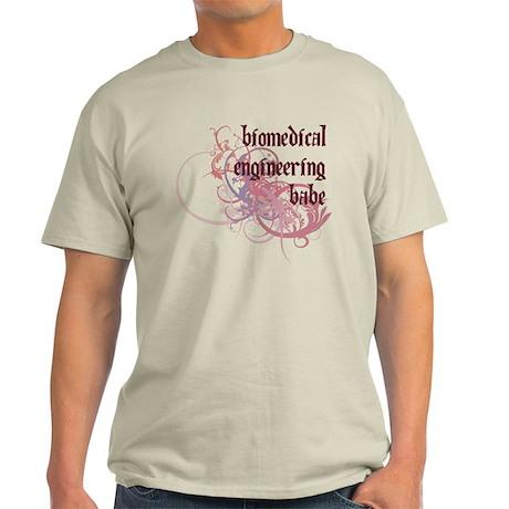Biomedical Engineering Babe Light T-Shirt