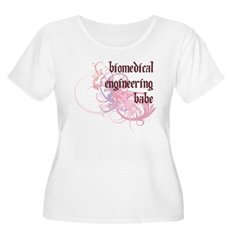 Biomedical Engineering Babe Women's Plus Size Scoo