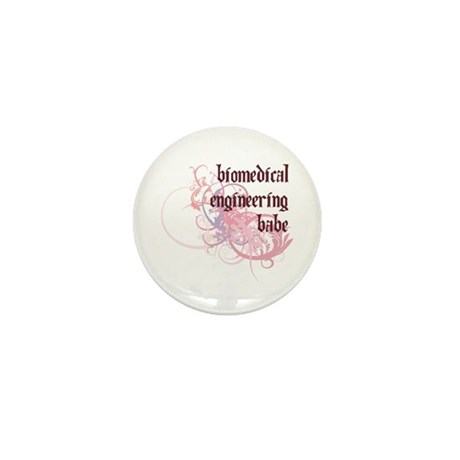 Biomedical Engineering Babe Mini Button