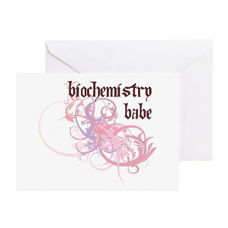 Biochemistry Babe Greeting Cards (Pk of 10)