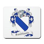 Sandilands Family Crest Mousepad