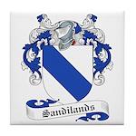 Sandilands Family Crest Tile Coaster