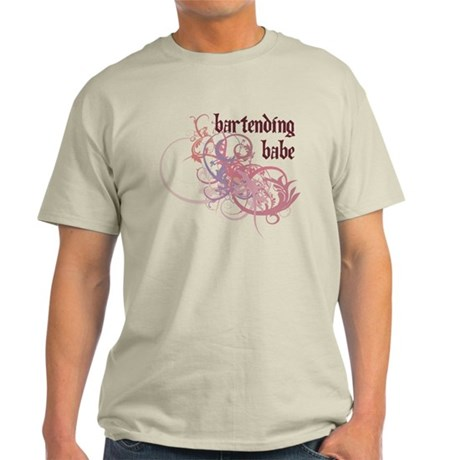 Bartending Babe Light T-Shirt