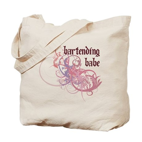 Bartending Babe Tote Bag