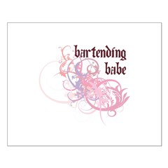 Bartending Babe Posters