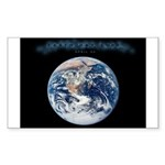 Earth Day 2009 Rectangle Sticker