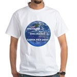 Earth Day 2009 White T-Shirt