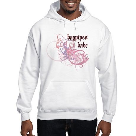 Bagpipes Babe Hooded Sweatshirt