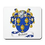 Schaw Family Crest Mousepad