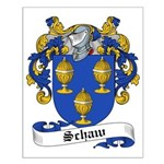Schaw Family Crest Small Poster