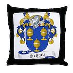 Schaw Family Crest Throw Pillow