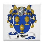Schaw Family Crest Tile Coaster