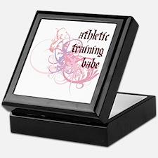 Athletic Training Babe Keepsake Box