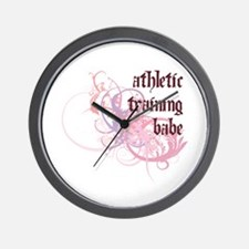 Athletic Training Babe Wall Clock