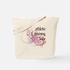 Athletic Training Babe Tote Bag