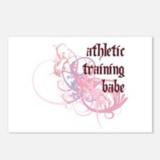Athletic Training Babe Postcards (Package of 8)
