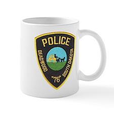 Deadwood Police Mug