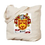 Seton Family Crest Tote Bag