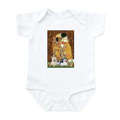KISS/PBGV8+Westie1 Infant Bodysuit