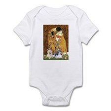 KISS/PBGV8+Westie1 Infant Bodysuit