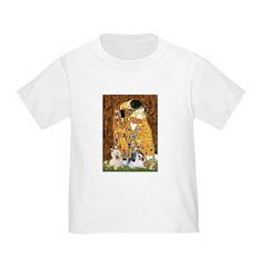 KISS/PBGV8+Westie1 Toddler T-Shirt