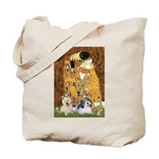 KISS/PBGV8+Westie1 Tote Bag