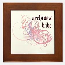 Archives Babe Framed Tile