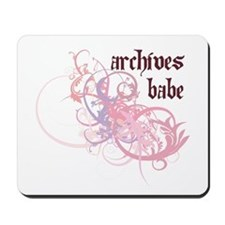 Archives Babe Mousepad