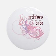 Archives Babe Ornament (Round)