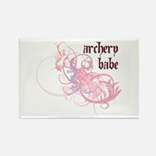 Archery Babe Rectangle Magnet