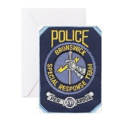 Brunswick Police SWAT Greeting Cards (Pk of 10)