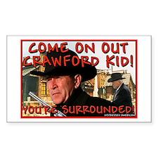 Crawford Kid Rectangle Decal